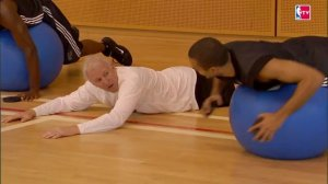 Popovich durante il training camp